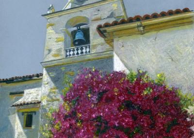 Blue Church Bell